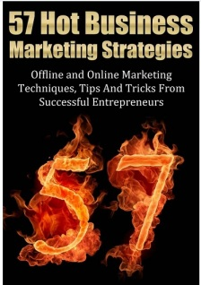 eBook 57 Hot Business Marketing Strategies
